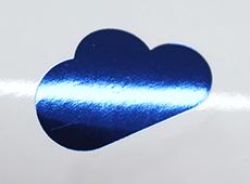 青色箔(有光)