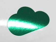 緑色箔(有光)